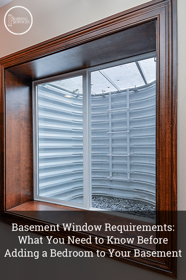 Basement window requirements what you need to know before for Egress window requirements for bedroom
