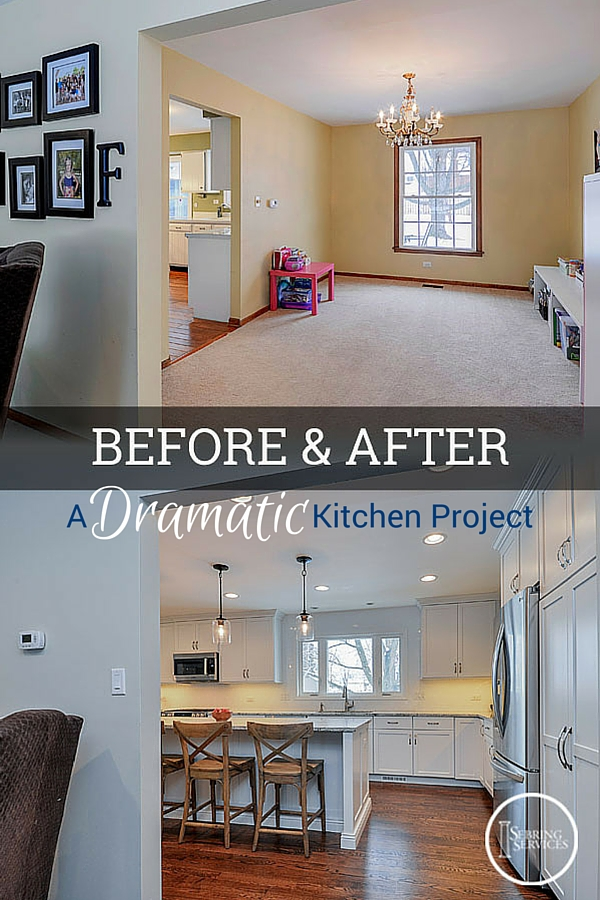 Before After A Dramatic Naperville Kitchen Renovation