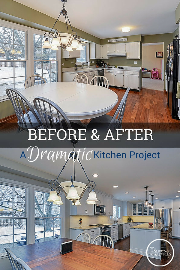 before after a dramatic naperville kitchen renovation - Before And After Home Remodel