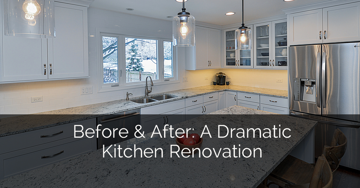 Before U0026 After: A Dramatic Naperville Kitchen Renovation | Home Remodeling  Contractors | Sebring Design Build