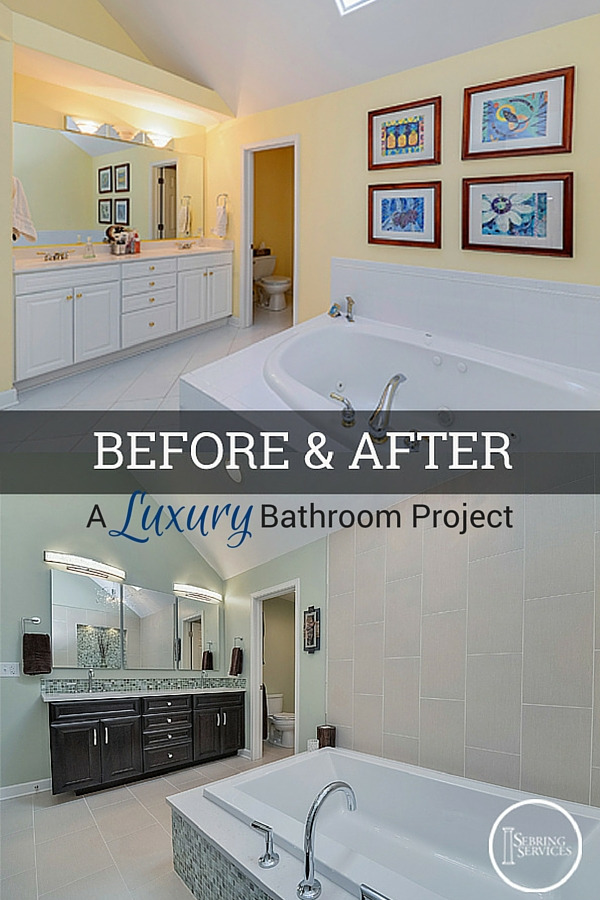 Before & After A Luxury Naperville Bathroom Remodel