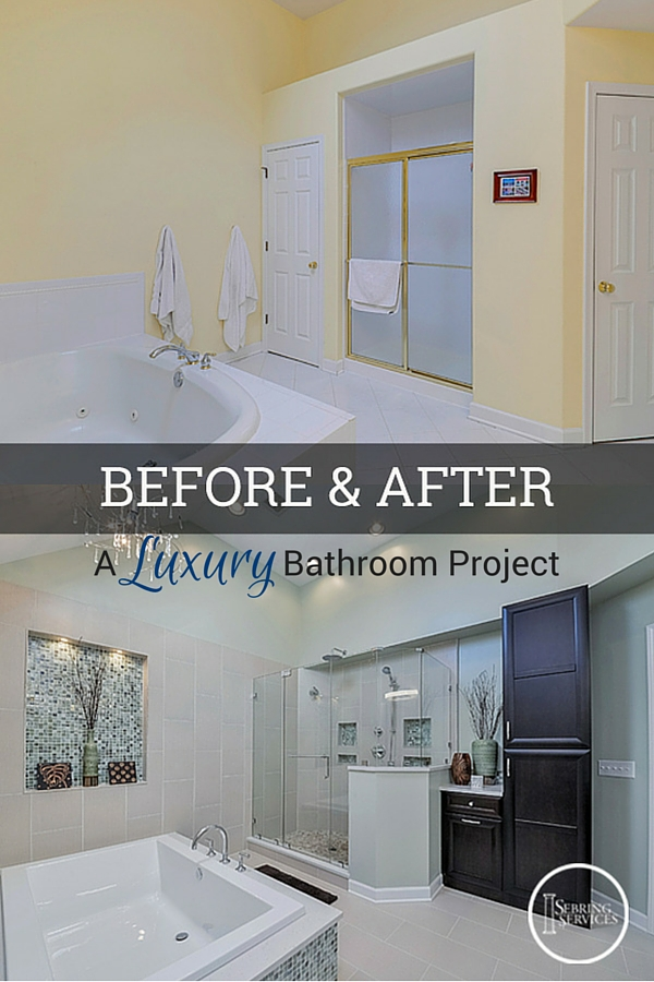 Before After A Luxury Bathroom Remodel Home Remodeling Impressive Bathroom Contractors Model