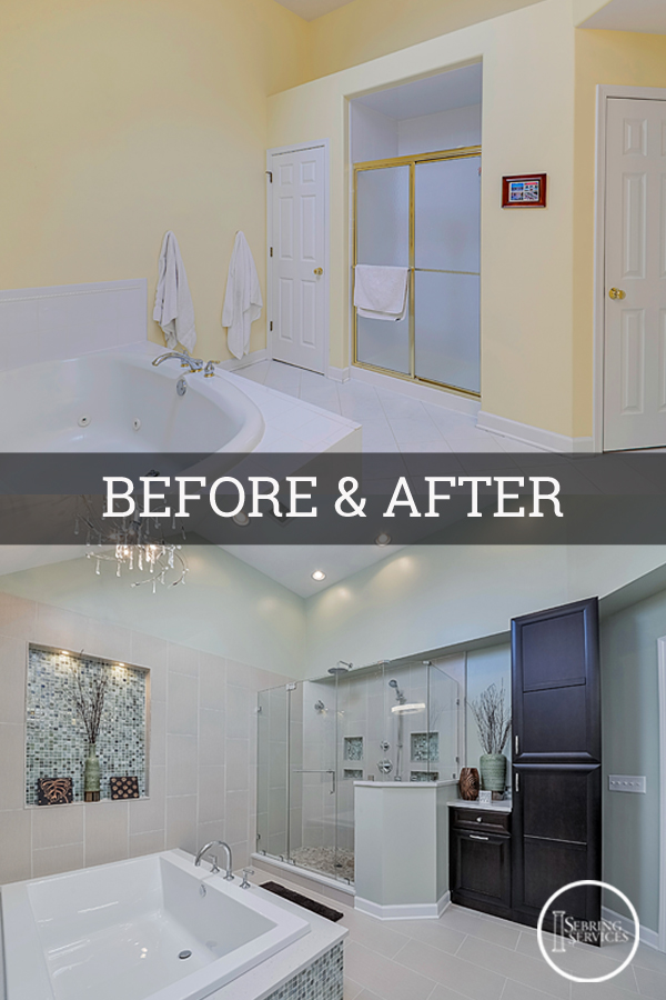 Before After A Luxury Naperville Bathroom Remodel Sebring Services