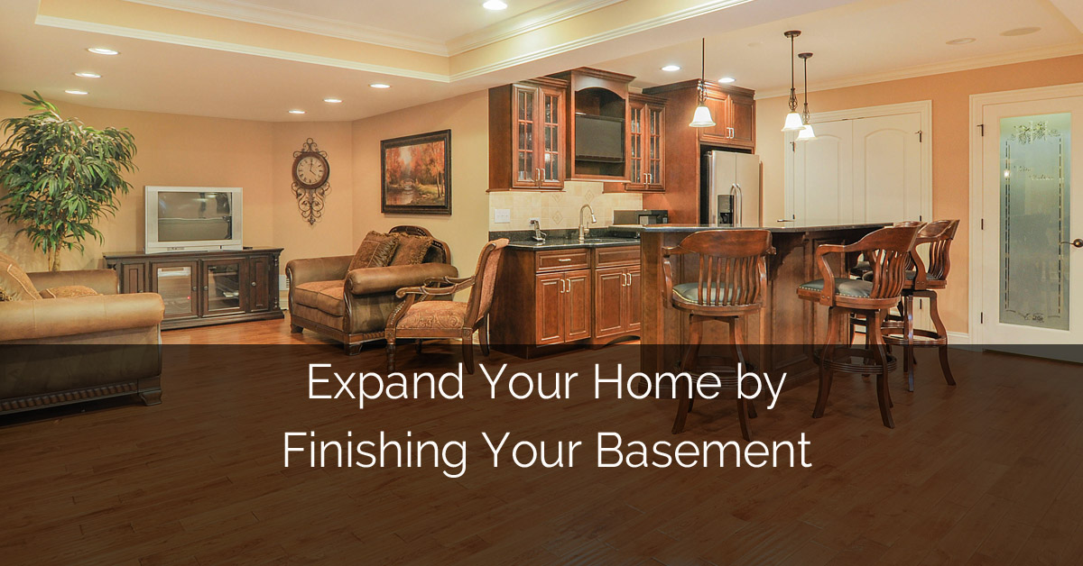Expand Naperville Home Finishing Basement - Sebring Services