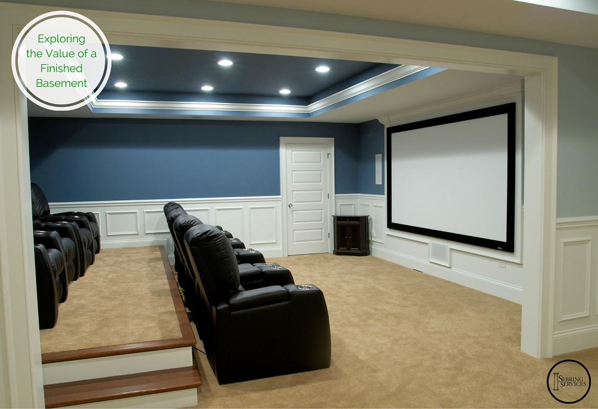 Exploring the Value of a Finished Basement Sebring Services