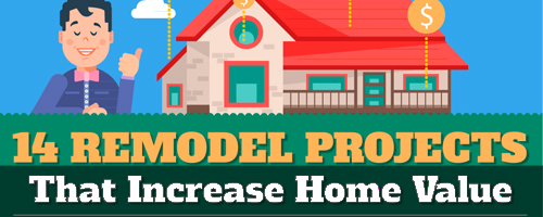 Remodeling projects that increase the value of your home for How to increase home value