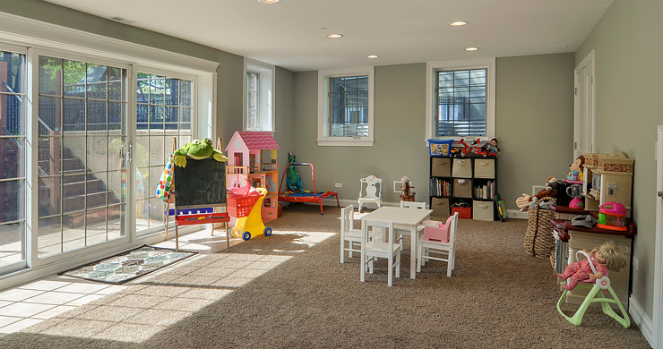 Value Of A Finished Basement Kids Play Room Sebring Services