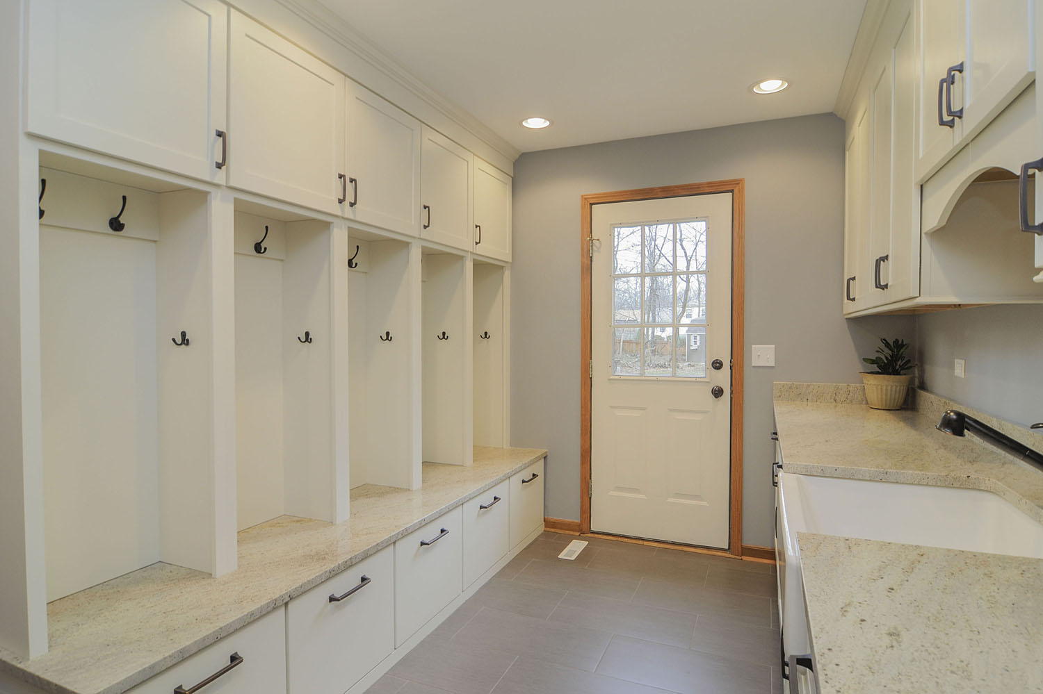Mudroom Remodel Warrenville - Sebring Design Build