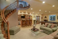 Basement Remodel Naperville - Sebring Design Build