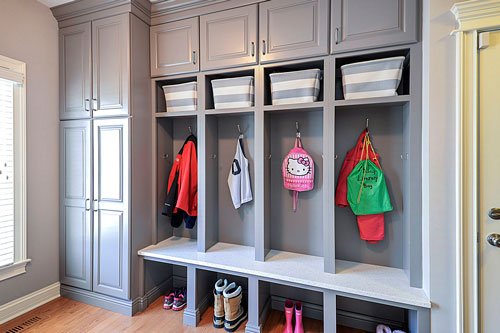Remodeling Ideas Locker Cabinetry Glen-Ellyn Wheaton IL Illinois Sebring Services