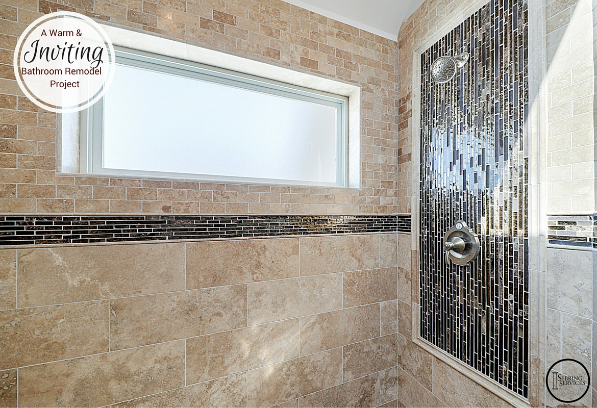 A Warm Inviting Bathroom Remodel Home Remodeling