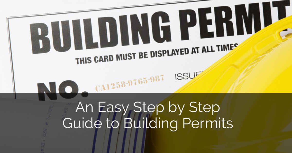 An easy step by step guide to building permits home for How to build a house step by step instructions