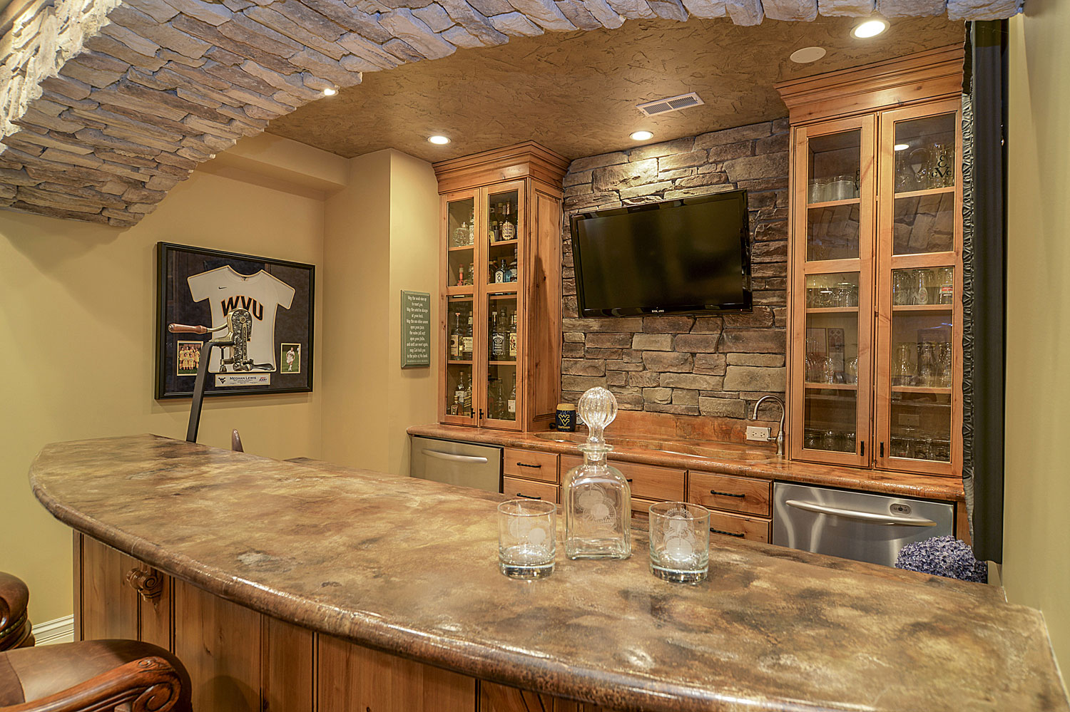 Gaming Room Finished Basement Ideas Naperville IL Sebring Services
