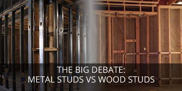 metal studs vs wood for basement 1