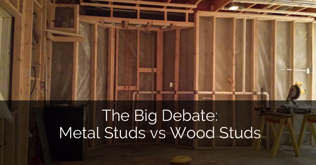 The Big Debate Metal Studs vs Wood Studs Sebring Services