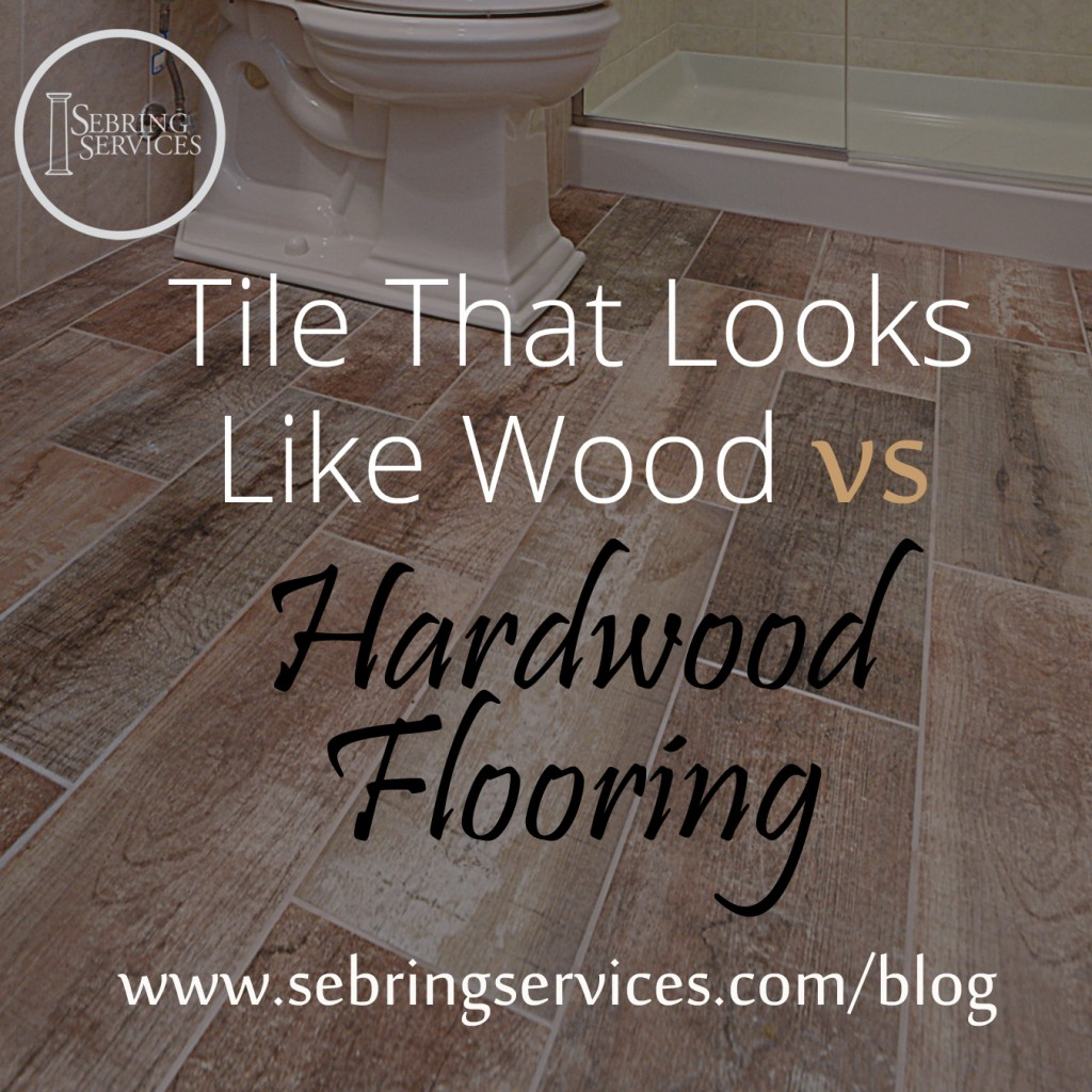 ... Tile That Looks Like Wood Vs Hardwood Flooring Sebring Services