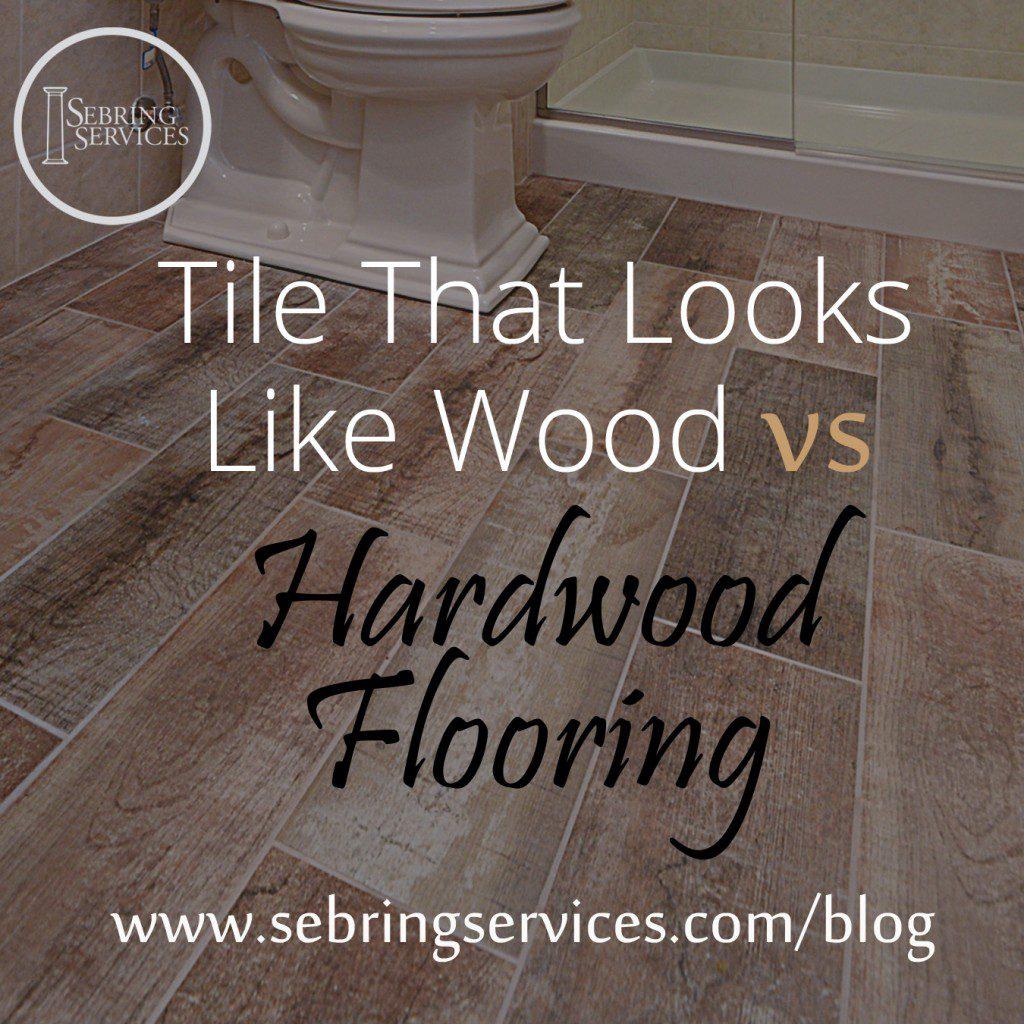 Tile That Looks Like Wood Vs Hardwood Flooring Home Remodeling - Faux hardwood flooring