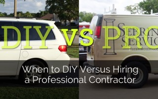 When to DIY Versus Hiring a Professional Remodeling Contractor - Sebring Services