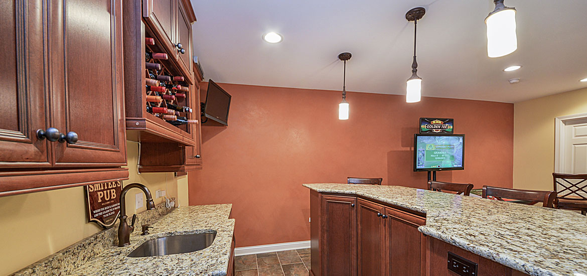 5 Finished Basement Ideas to Create a Fun Space for Your Family - Sebring Services