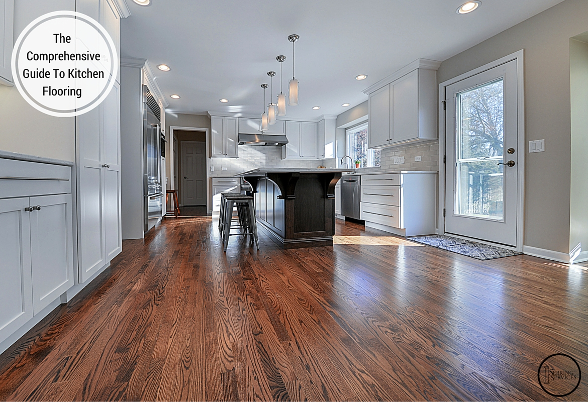 the comprehensive guide to kitchen flooring hardwood - Laminate Kitchen Flooring