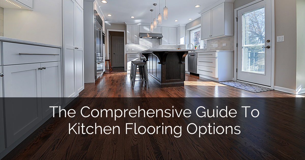 The comprehensive guide to kitchen flooring options home for Kitchen flooring options uk