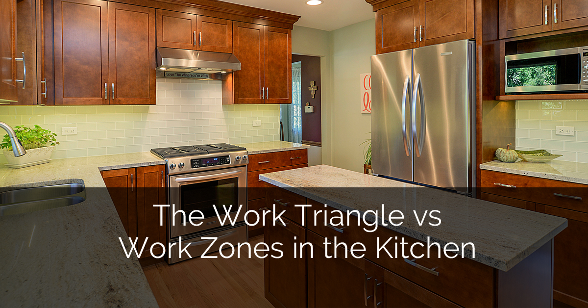 The Work Triangle Vs Work Zones In The Kitchen | Home Remodeling  Contractors | Sebring Design Build