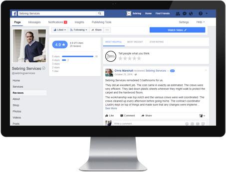 Facebook Reviews - Sebring Services