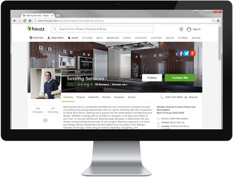 Houzz Review - Sebring Services