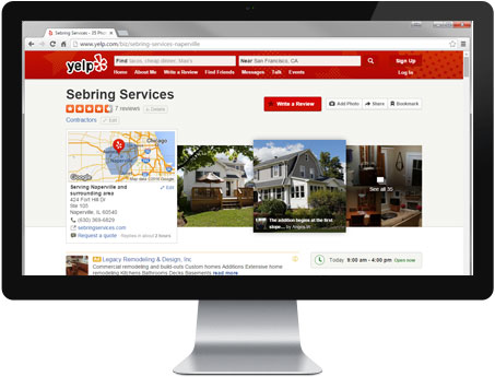 Yelp Review - Sebring Services