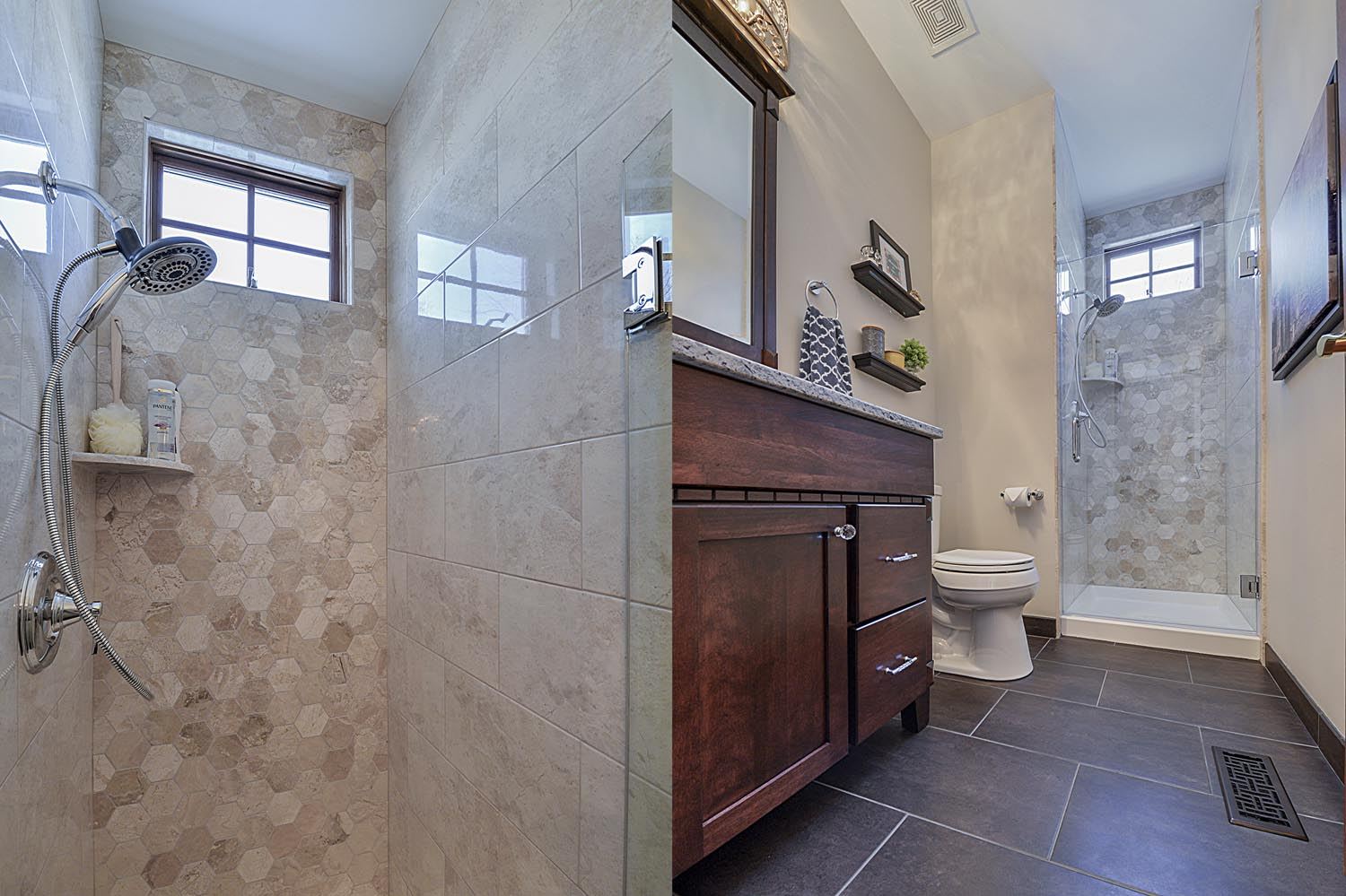 Bathroom Remodeling Tile Cabinet Granite Quartz Ideas Glen Ellyn IL Sebring  Services ...