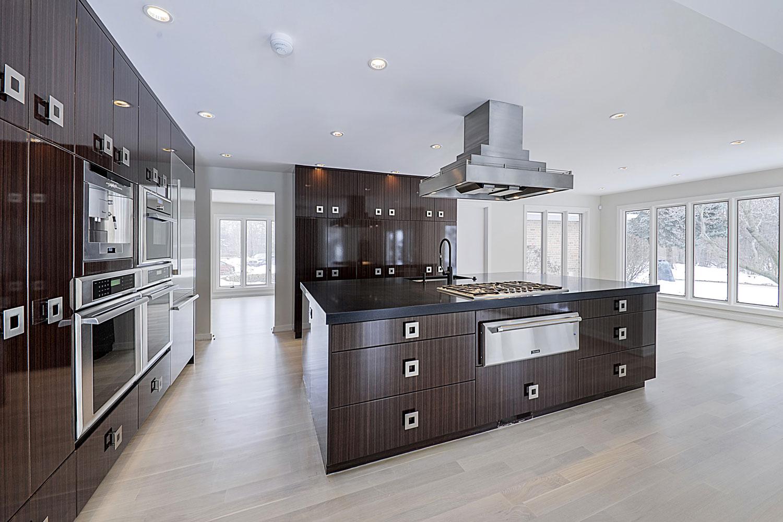 ... Kitchen Remodeling Ideas Tiger Wood Cabinets Dark Quartz Oak Brook  Hinsdale IL Illinois Sebring Services ...