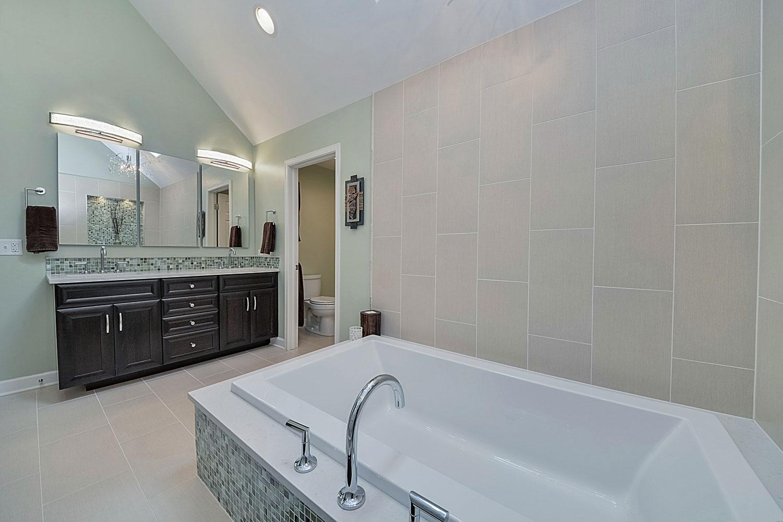 Steve nicolle 39 s master bathroom remodel home for Bathroom remodel services