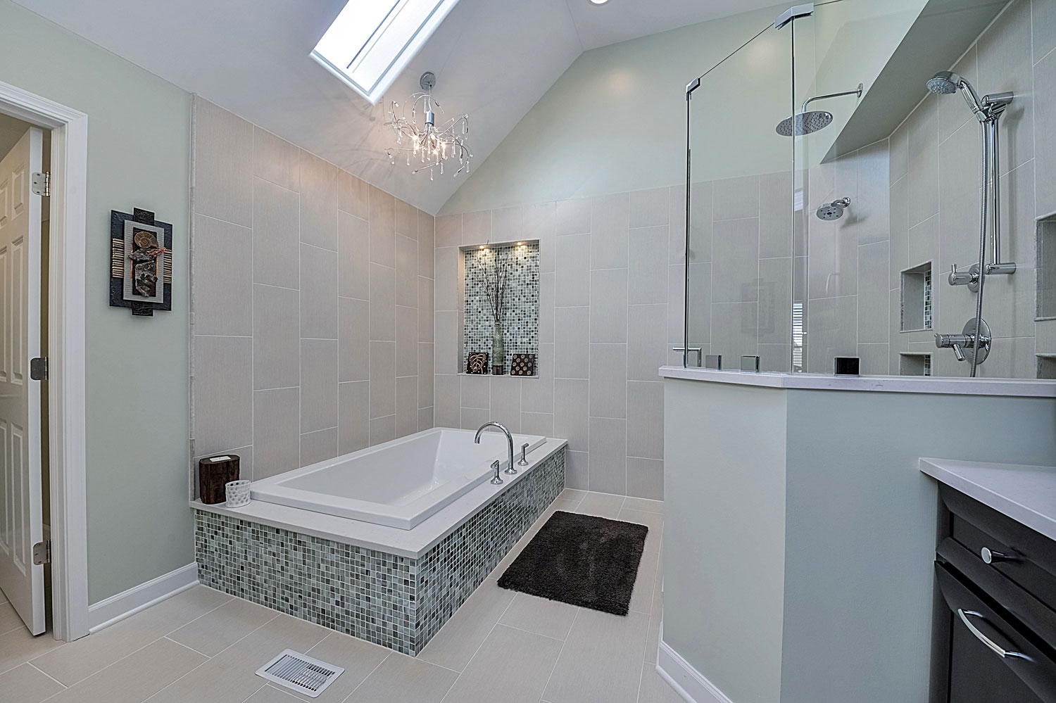Naperville Bathroom Remodeling Prepossessing Steve & Nicolle's Master Bathroom Remodel Pictures  Home . Design Ideas