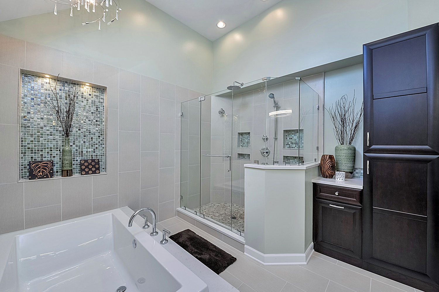 Steve Nicolle 39 S Master Bathroom Remodel Pictures Home