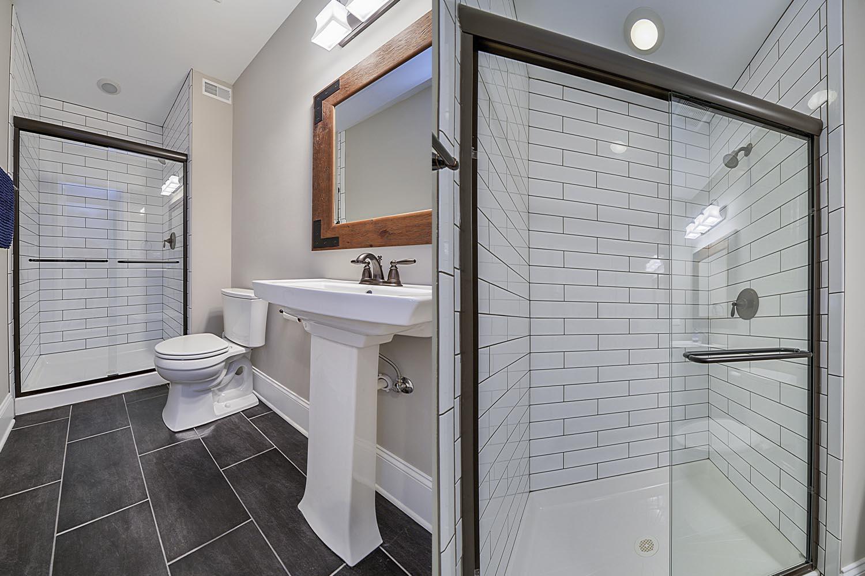 Drew Nicole 39 S Basement Bathroom Remodel Pictures Home