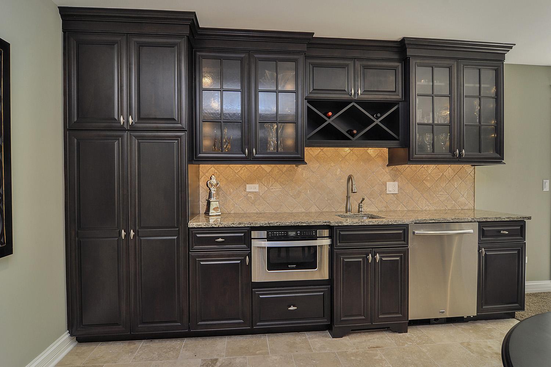 ... Wet Bar Pool Table Fireplace Finished Basement Remodeling Ideas Glen  Ellyn Sebring Services ...