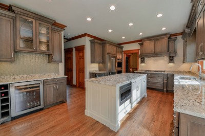 Kitchen Remodeling Ideas White Cabinetry Granite Wheaton IL Illinois Sebring Services