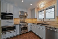 Kitchen Remodeling Ideas White Cabinetry Quartz Hinsdale IL Illinois Sebring Services