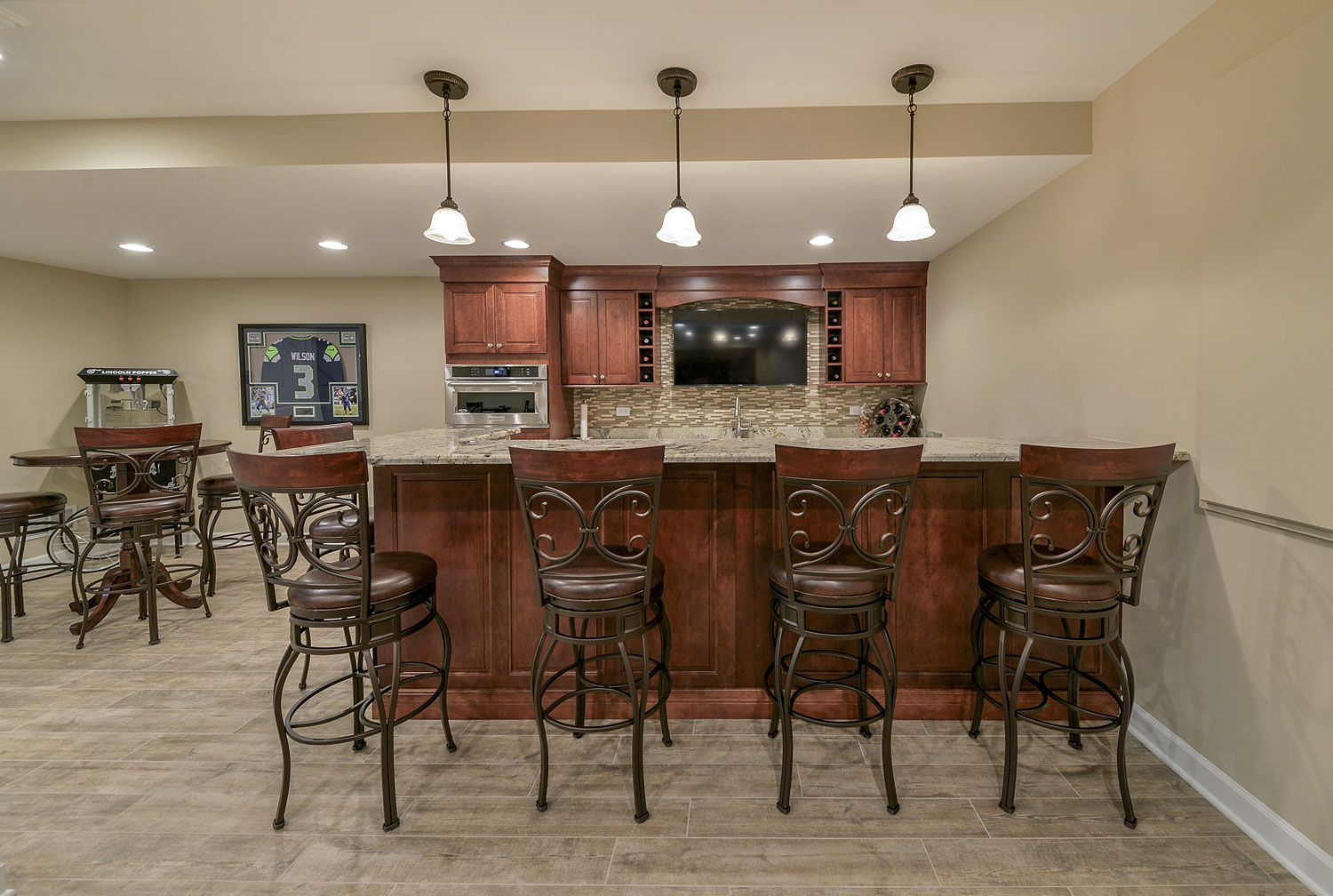 Eric Amp Mariam S Basement Pictures Home Remodeling