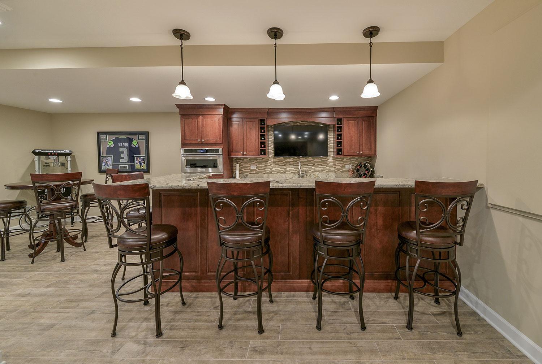 Eric Amp Mariam S Basement Pictures Home Remodeling Contractors Sebring Design Build