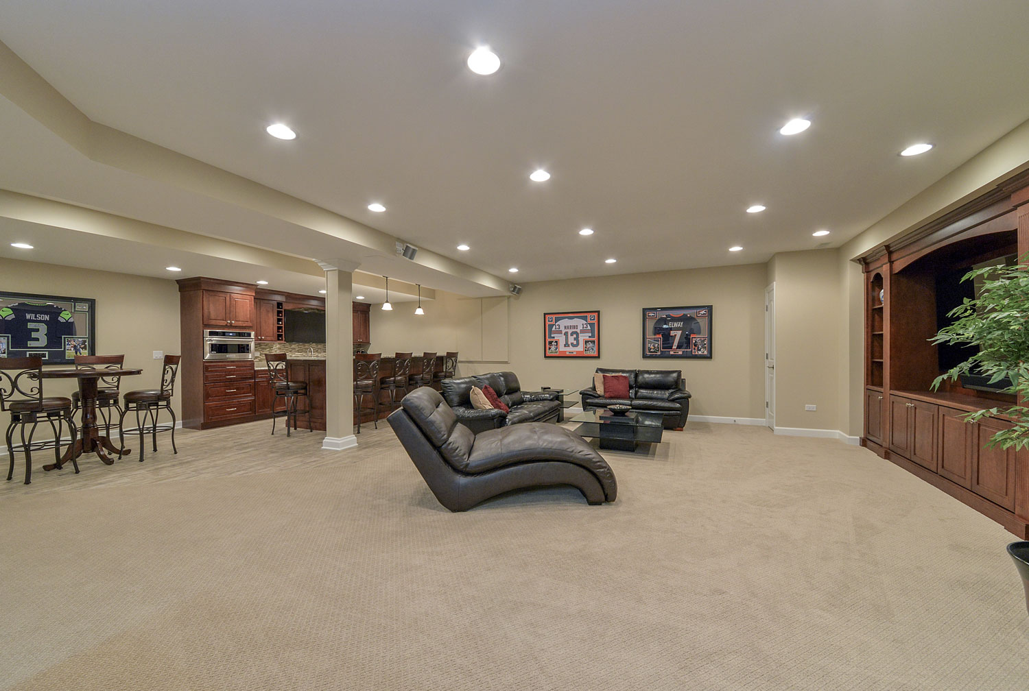 eric amp mariam s basement pictures home remodeling 10988