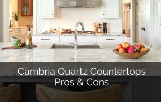Cambria Quartz Countertops Pros & Cons - Sebring Services