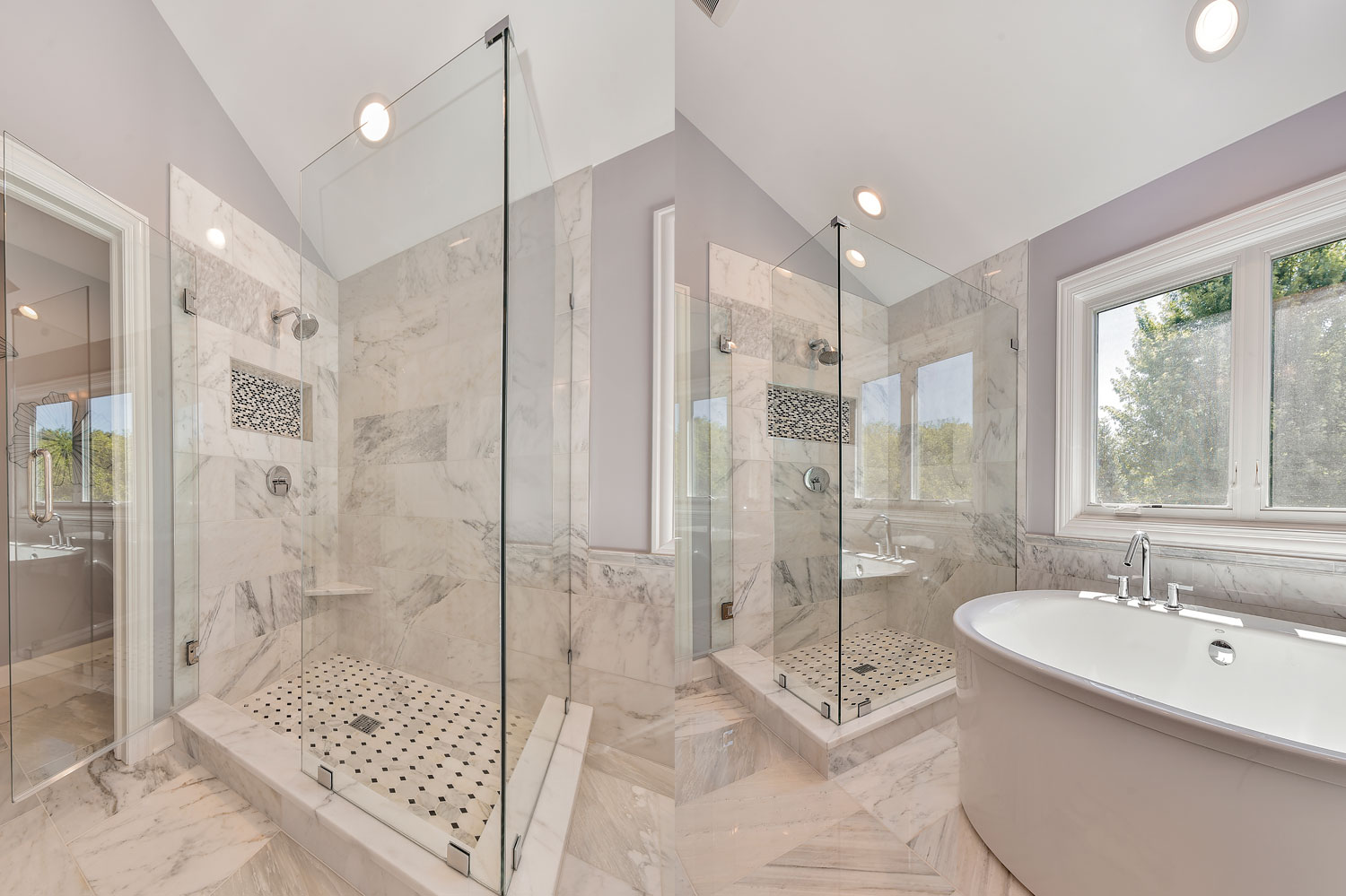 Doug natalie 39 s master bathroom remodel pictures home Bathroom remodeling services