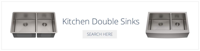 Kitchen Double Sinks - Sebring Design Build