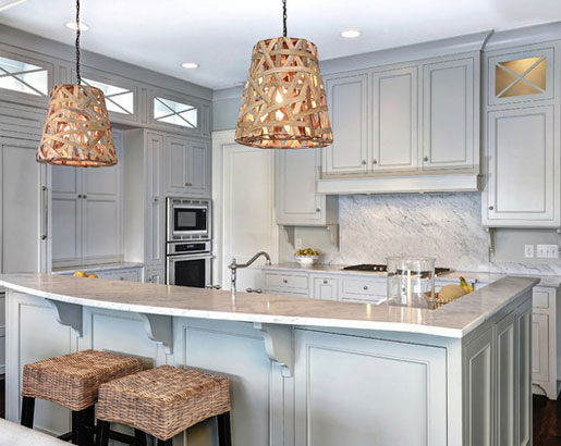 Grey Kitchen Cabinet Images the psychology of why gray kitchen cabinets are so popular | home