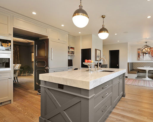 grey idea quartz islands designs designing with island kitchen counter white gorgeous