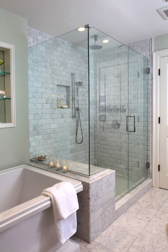 walk in shower ideas sebring services - Shower Tile Design Ideas