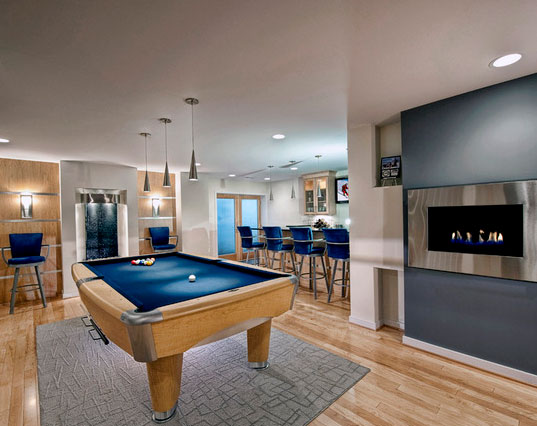 45 Amazing Luxury Finished Basement Ideas Home