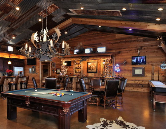 Ideas For A Rustic Man Cave : Incredible man cave ideas that will make you jealous home