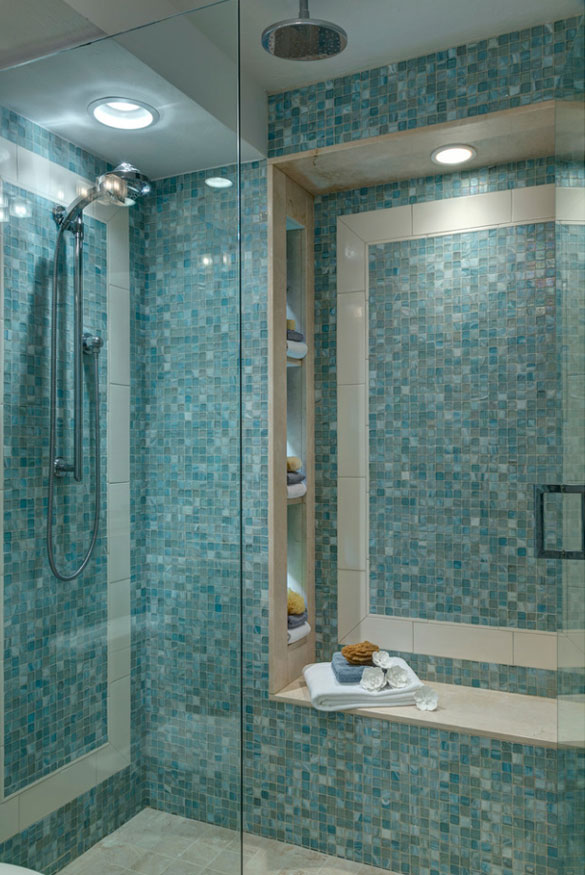 stone bluebell for more room tiles tile rooms and about wet view shower mosaic wall marshalls benjamin